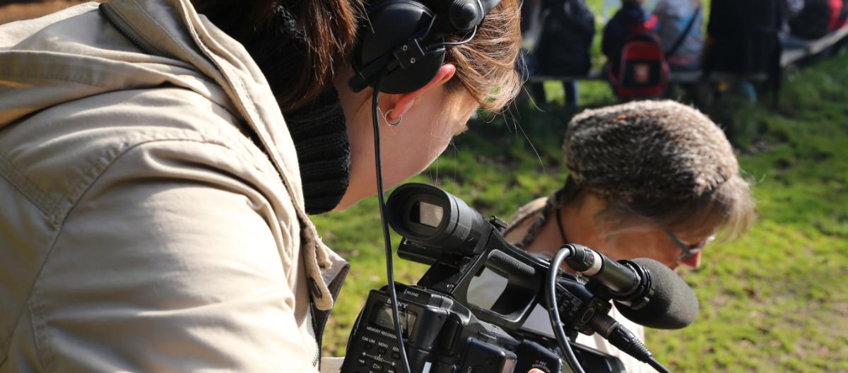 Videojournalistin Christina Georgi
